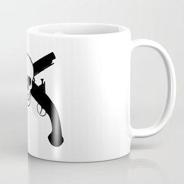 Skull And Pistols Coffee Mug