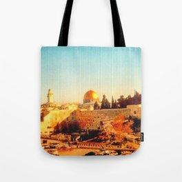 Old City of Jerusalem, 2004 Tote Bag