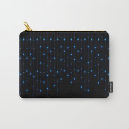 Blue Chandelier Carry-All Pouch