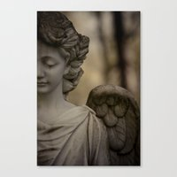 angel Canvas Prints featuring Angel by Maria Heyens