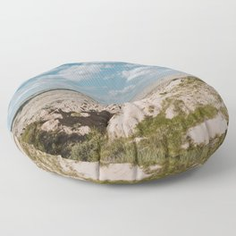 Red Shirt Table - Badlands National Park Floor Pillow