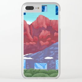 It's Time Clear iPhone Case