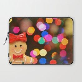 Gingerbread Bokeh Laptop Sleeve