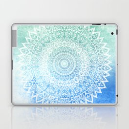 OCEAN PASSION LEAVES MANDALA Laptop & iPad Skin