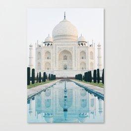 Taj Mahal at Sunrise Canvas Print