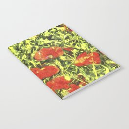 Poppys Van Goth Art Notebook