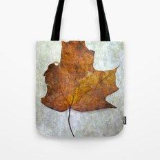 Autumn-Leaf Tote Bag