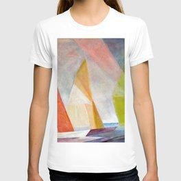 Sailing Yachts at Sunrise by Lyonel Feininger T-shirt