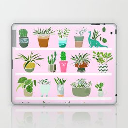 Shelfie cactus print Laptop & iPad Skin