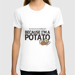 Hello Potato Portal 2 T-shirt