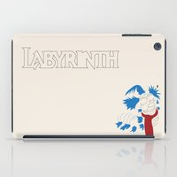 labyrinth iPad Cases featuring Labyrinth by mgn.russ