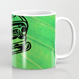 Green Pickup Coffee Mug