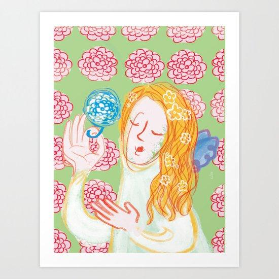 Angie Darling Art Print