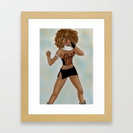 "Say You'll Be There ""Blazin Bad Zula"" Framed Art Print"