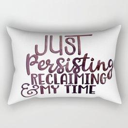 Persisting and Reclaiming Rectangular Pillow