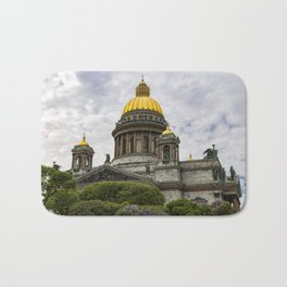 Saint Isaacs Cathedral Saint Petersburg Bath Mat