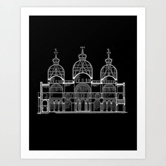 San Marco Section Art Print