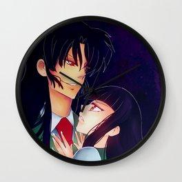 Naraku + Kikyo Wall Clock