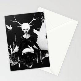Space Within Stationery Cards