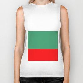 flag of bulgaria 2 -bulgarian, България,български,slav,cyrillic,Sofia,bulgaria Biker Tank