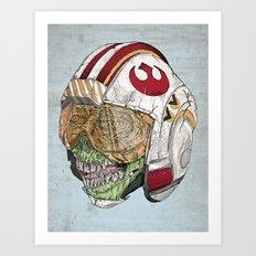 Zombie Alliance Art Print