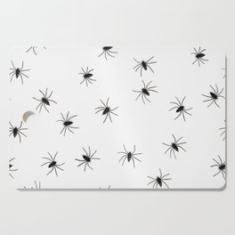 Spiders | Arachphobia | Happy Halloween | Gothic love | Bugs Cutting Board