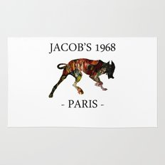 Mad Dog II Contour White Colors Jacob's 1968 urban fashion Paris Rug