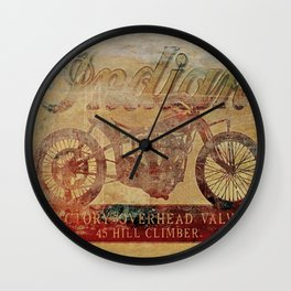 Indian - Vintage Motorcycle Wall Clock