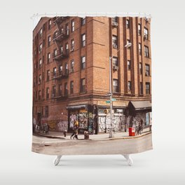 East Village Corner Shower Curtain