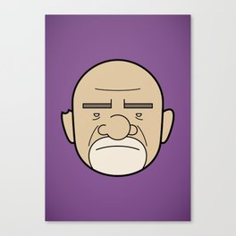 Faces of Breaking Bad: Mike Ehrmantraut Canvas Print