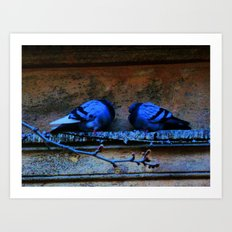 Romeo and Juliette Art Print