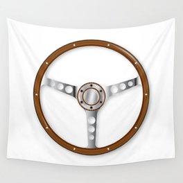 Sports Steering Wheel Wall Tapestry