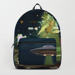 Meow! Cat abduction Backpack