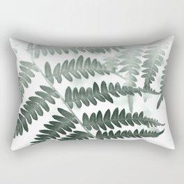 Fern Textures Rectangular Pillow