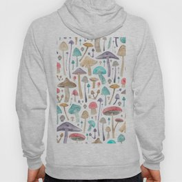 Toadstools and Mushrooms Hoody