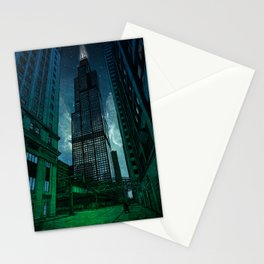 On the Shoulders of Giants Stationery Cards
