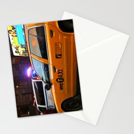 Taxi Service Stationery Cards