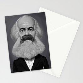 Karl Marx Stationery Cards