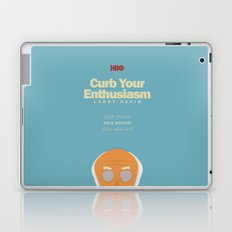Curb Your Enthusiasm - Hbo tv Show with Larry David - Poster Laptop & iPad Skin