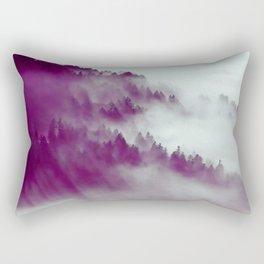 Forest Fog #society6 #decor #buyart Rectangular Pillow