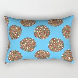 FRECKLES - BLUE Rectangular Pillow