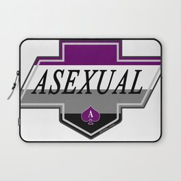 Identity Stamp: Asexual Laptop Sleeve