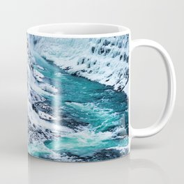 Gulfoss Waterfall Iceland Coffee Mug