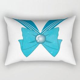 Galactic Sailor Mercury Bow Rectangular Pillow