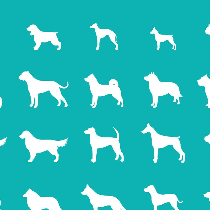 All Dogs (Aqua) Leggings