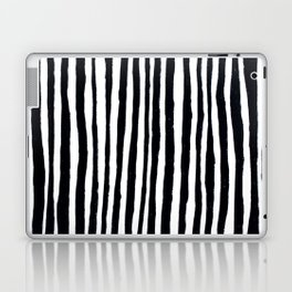 Black Stripes Laptop & iPad Skin