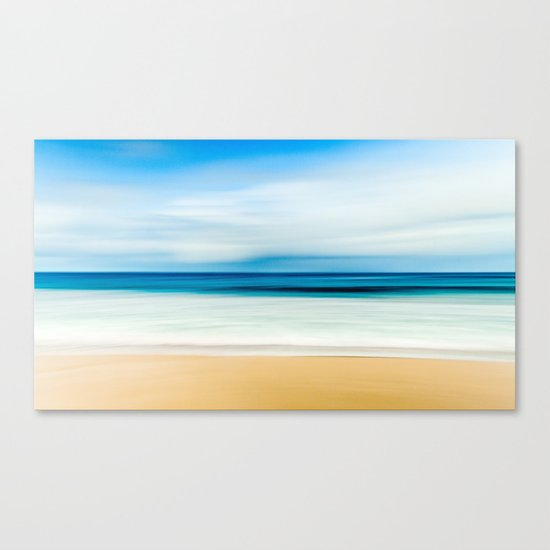 Blurred Beach Canvas Print