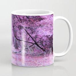 Fantasy Tree Landscape: Orchid Pink Purple Coffee Mug