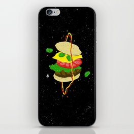 Planetary Discovery 8932: Cheeseburger iPhone Skin