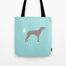 weimaraner funny farting dog breed pure breed pet gifts Tote Bag